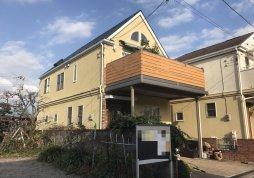 洗浄・屋根塗装工事 戸建て 市川市