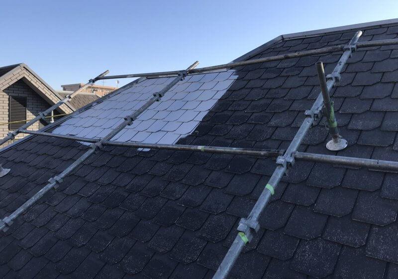 洗浄・屋根塗装工事 戸建て 松戸市