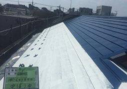 洗浄・屋根遮熱塗装工事 アパート 世田谷区