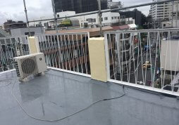屋上防水・塗装工事 ビル 目黒区