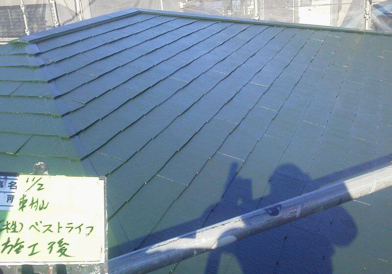 洗浄・屋根塗装工事 戸建て 東村山市