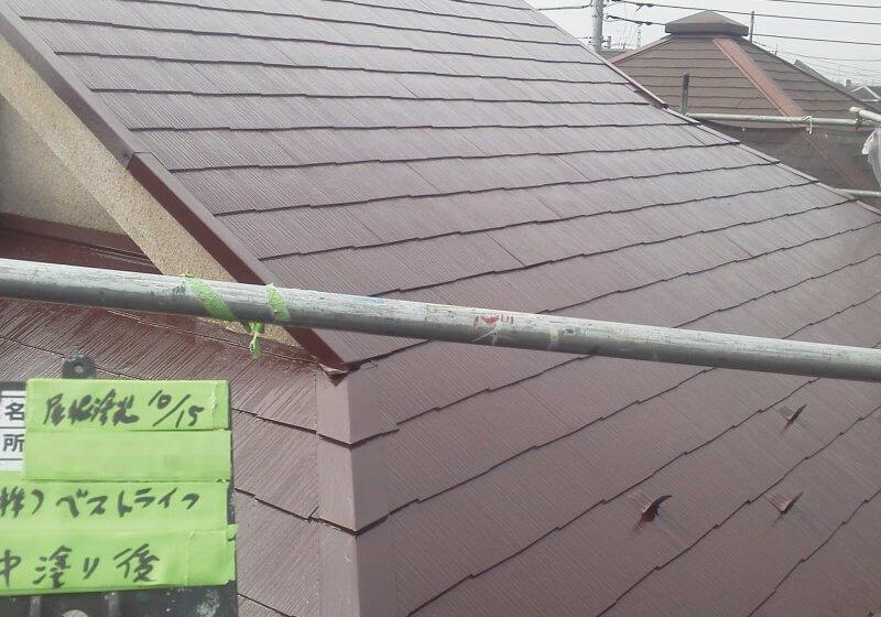 洗浄・屋根塗装工事 戸建 東久留米市