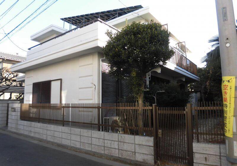 洗浄・塗装工事 戸建て 武蔵野市