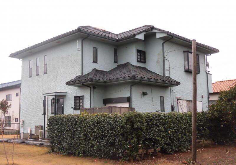 洗浄・塗装工事 一戸建て 千葉県四街道市